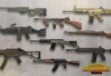 jenis senjata pubg mobile