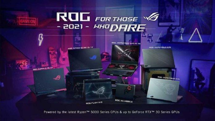 laptop gaming rog