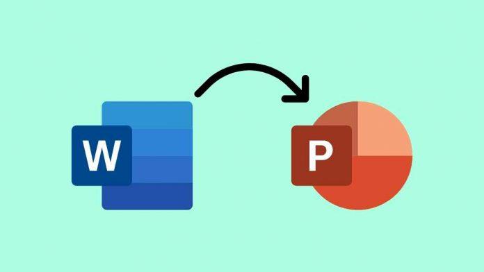 Cara Mengubah Word ke PowerPoint