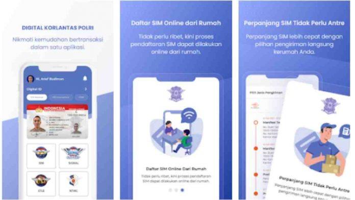 cara perpanjang SIM online
